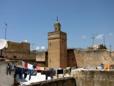 My view from the terrace in Fes