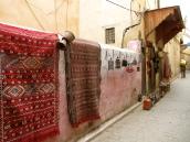 Prettiest wall in Fes